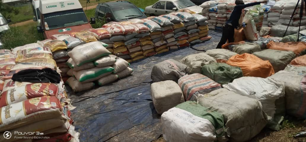N31.9MILLION worth of contraband seized by customs