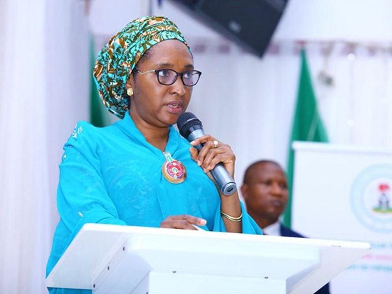 The Minister for Finance, Budget and National Planning, Mrs. Zainab Ahmed