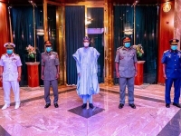 Buhari and the new Service Chiefs