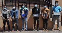 The Six Suspected Internet Fraudsters